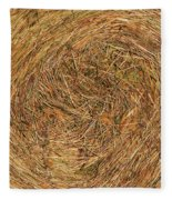 Straw Fleece Blanket