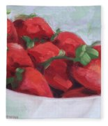 Strawberries Fleece Blanket