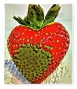 Strawberry Dreams Fleece Blanket