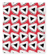 Strawberry Hamentashen- Art By Linda Woods Fleece Blanket
