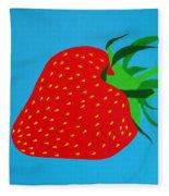 Strawberry Pop Fleece Blanket