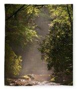 Stream Light Fleece Blanket