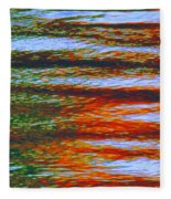 Streaming Rays Of Love Fleece Blanket