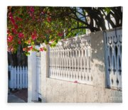 Street In Key West Fleece Blanket