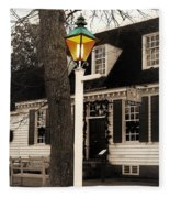 Street Lamp Fleece Blanket