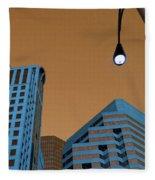 Street View Fleece Blanket