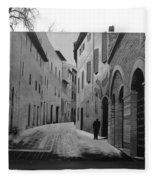 Street Within A Street Fleece Blanket