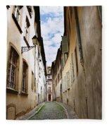Streets Of France Fleece Blanket