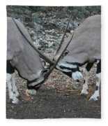 Strength Of Honor Fleece Blanket