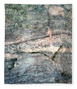 Striations 2 Fleece Blanket