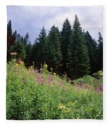Striking Beauty Fleece Blanket