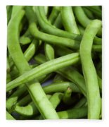 String Beans Fleece Blanket