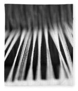 Strings In A Loom Fleece Blanket