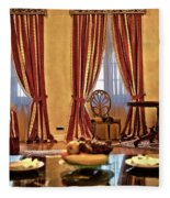 Striped Room Fleece Blanket
