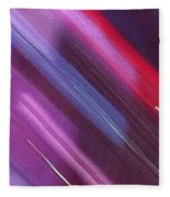 Stripes Abstract Fleece Blanket