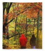 Strolling Along Fleece Blanket