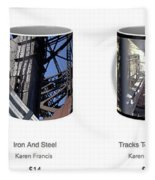 Strong As Steel Coffee Mugs Fleece Blanket