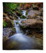 Strongs Canyon Cascades Fleece Blanket