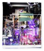 Strontium Atomic Clock Fleece Blanket