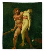 Study For Hercules And Alcestis Fleece Blanket