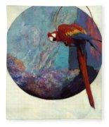 Study For Polly 1923 Fleece Blanket