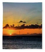 Stunning Sunset Fleece Blanket