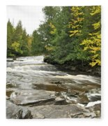 Sturgeon River Fleece Blanket