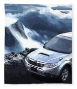 Subaru Fleece Blanket