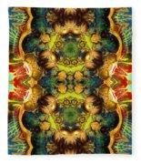 Subconscious Sacred Scrolls Fleece Blanket