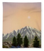 Sublime Sierra Light Fleece Blanket