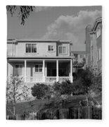 Suburban House On Hayward Boulevard Hayward California 2 Fleece Blanket