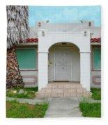 Suburban Surveillance House On Montgomery Avenue Hayward California 6 Fleece Blanket