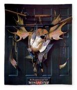 Successful Hunter  Door Art Fleece Blanket