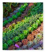 Succulent 1 Fleece Blanket