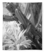 Succulent Delight Fleece Blanket