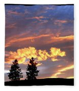 Sudden Splendor Fleece Blanket