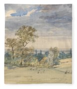 Suffolk Landscape Fleece Blanket