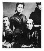 Suffragettes, 1888 Fleece Blanket