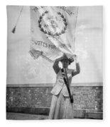 Suffragist, C1912 Fleece Blanket