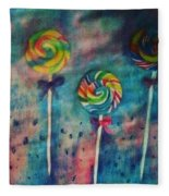 Sugar Rush  Fleece Blanket