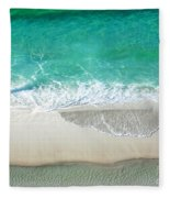 Sugar Sand Beach Fleece Blanket