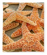 Sugar Starfish Fleece Blanket