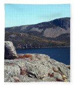 Sugarloaf Hill From The Lookout  Fleece Blanket
