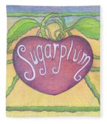 Sugarplum #2 Fleece Blanket