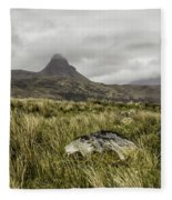 Suilven Mountain Fleece Blanket