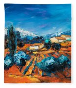 Sulla Collina Fleece Blanket