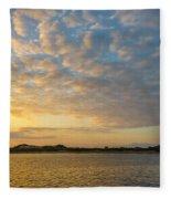 Sullivan Bay Sunrise Fleece Blanket