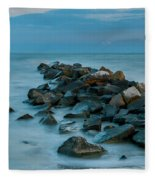 Sullivan's Island Rock Jetty Fleece Blanket