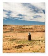 Sulphur Grain Elevators Fleece Blanket