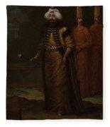 Sultan Ahmed IIi, Jean Baptiste Vanmour, C. 1727 - C. 1730 Fleece Blanket